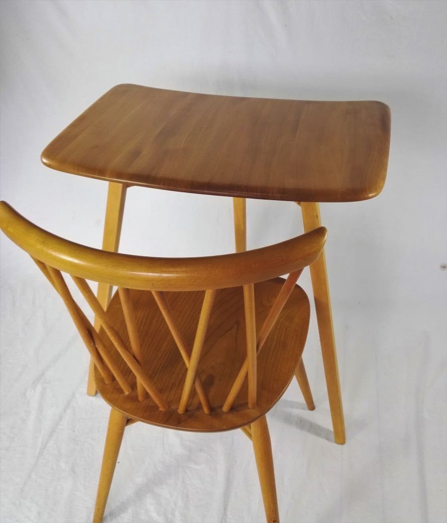 Ercol 265 plank extension end table