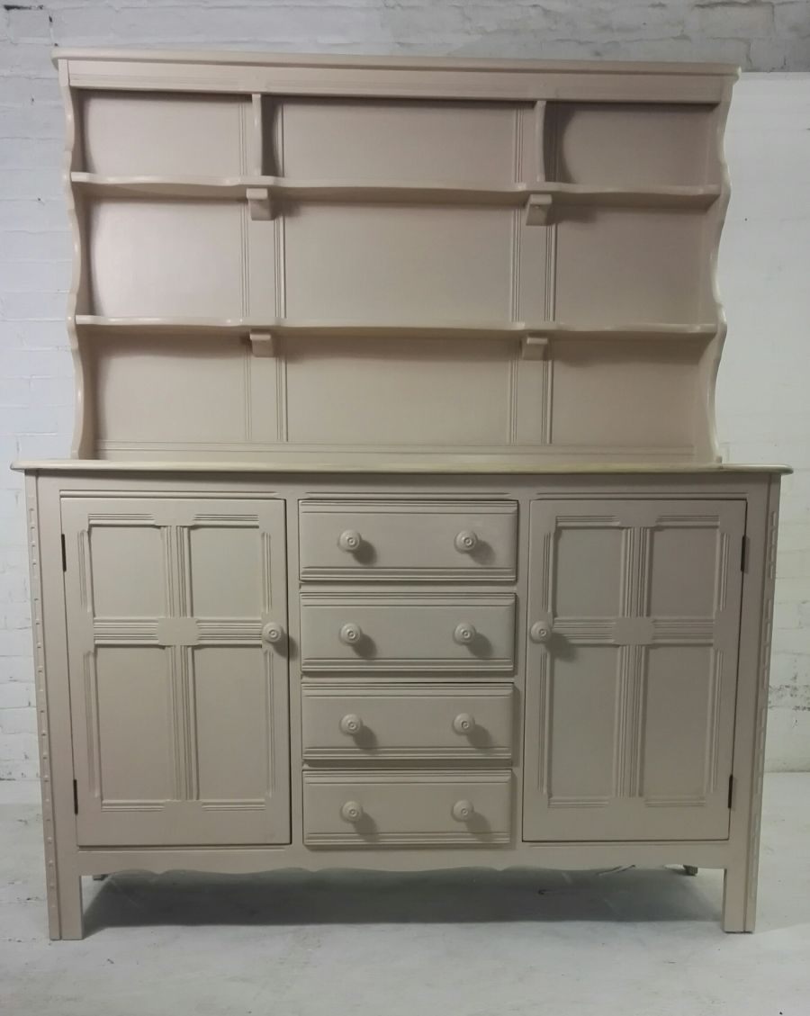 Large Ercol painted Welsh dresser