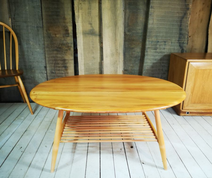 Ercol Windsor Oval Coffee Table