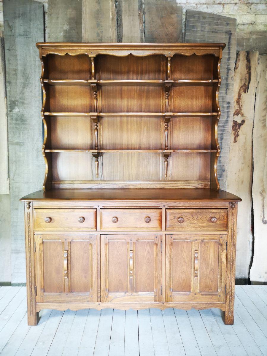 Ercol Lavenham Golden Dawn Elm Dresser