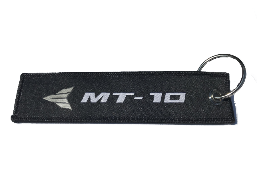 Yamaha MT10 Embroidered Keyring