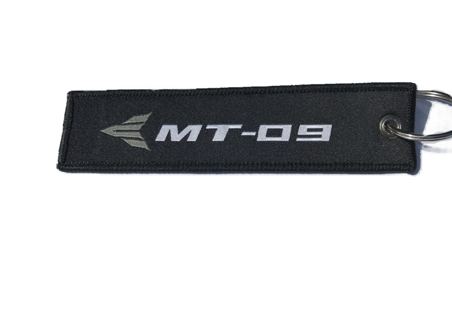 Yamaha MT09 Embroidered Keyring