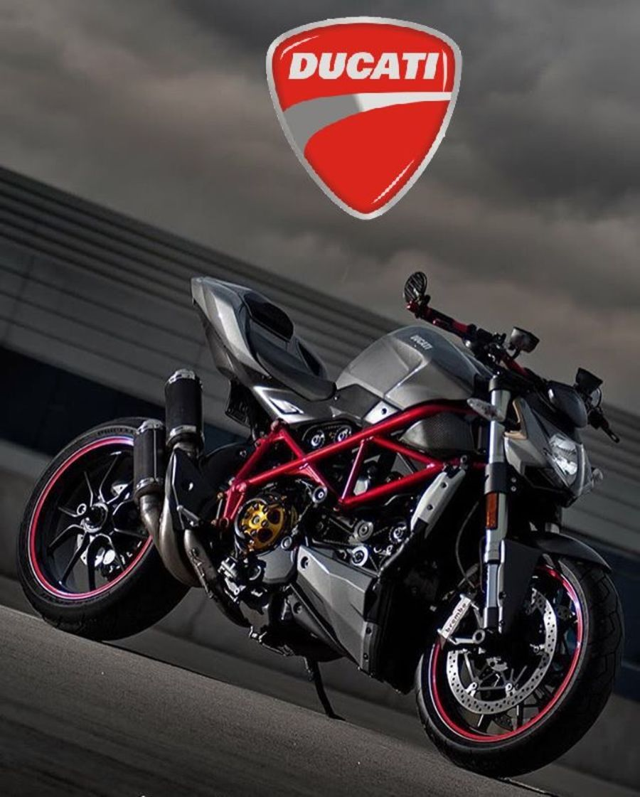 Ducati Street Fighter Garage Sign