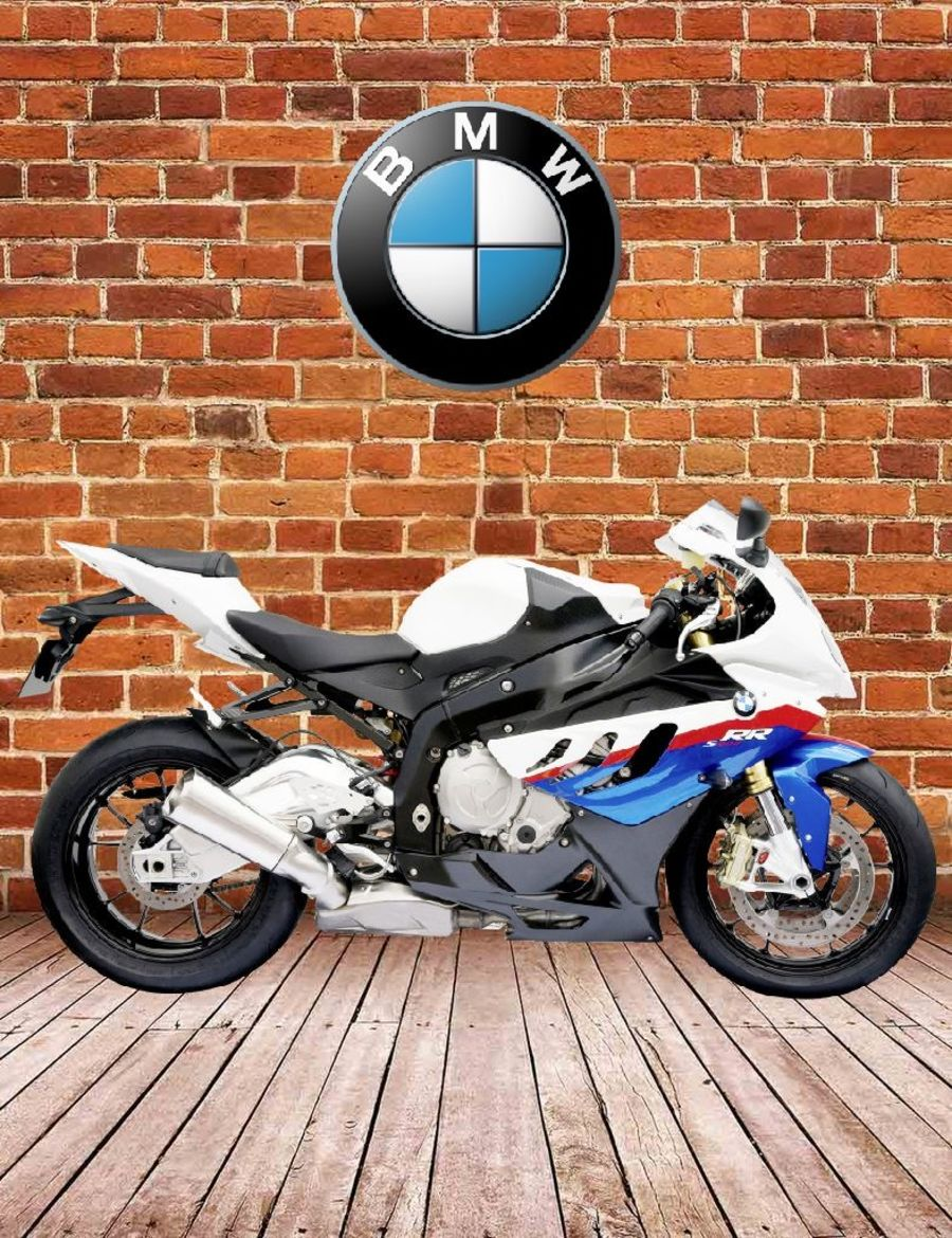 BMW S1000RR M Sport Garage Sign