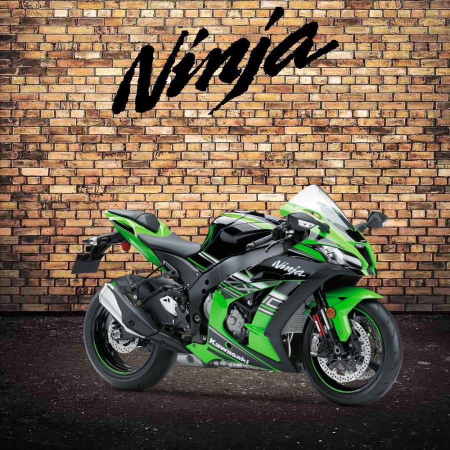 Kawasaki ZX10R garage sign