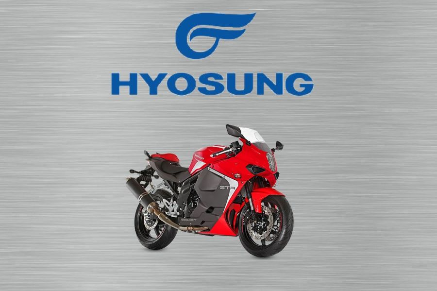 Hyosung GTR garage sign