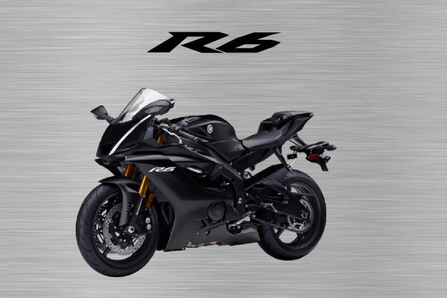 Yamaha R6 Sign Black