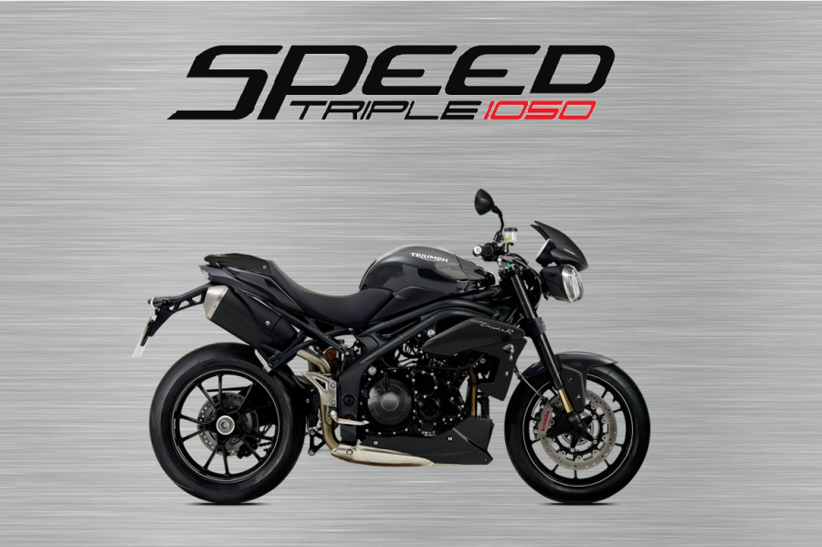 Triumph Speed triple 94R garage sign