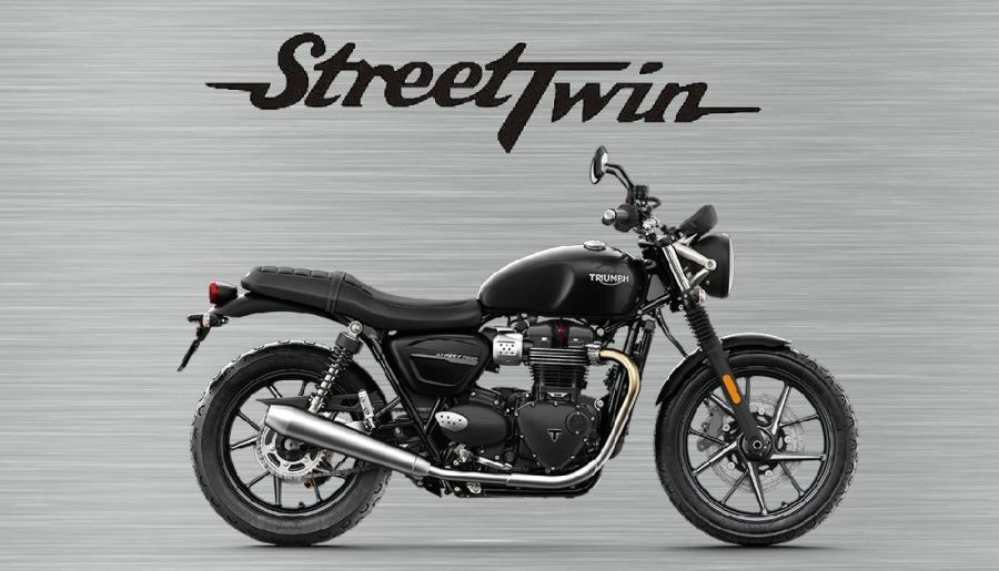 Triumph Street Twin garage sign