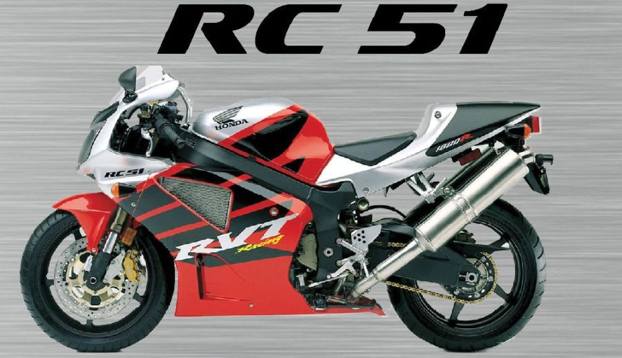 Honda VTR rc51 sign
