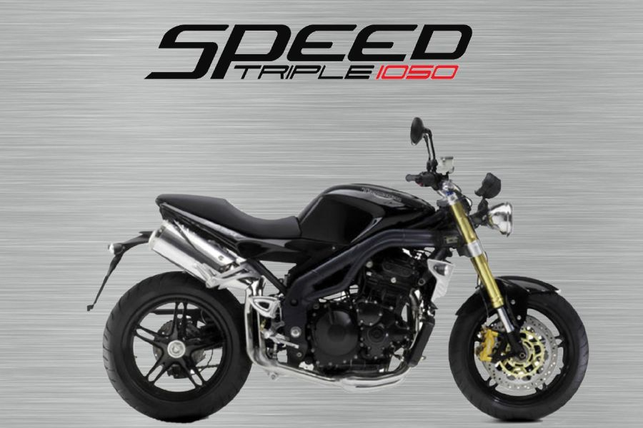 Triumph Speed triple 2005 garage sign