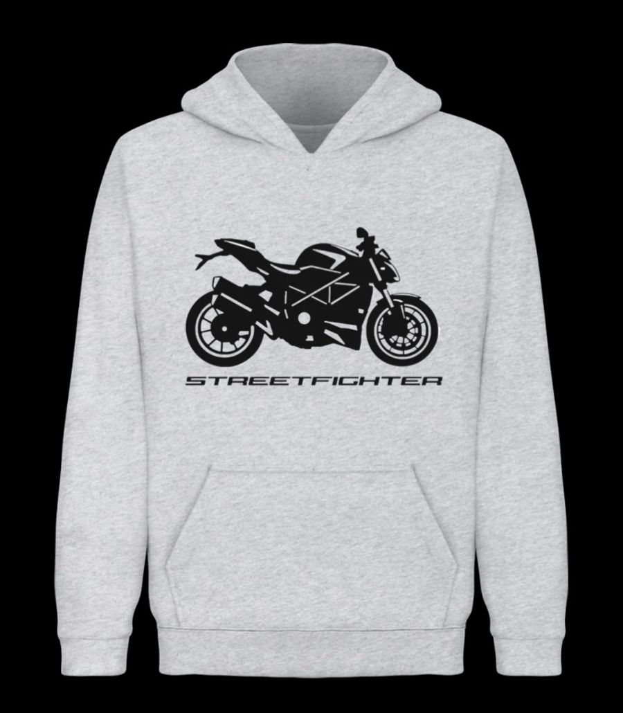 Ducati street fighter Hoodie Grey
