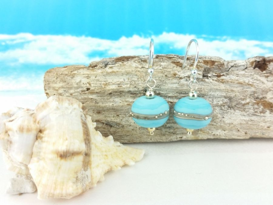 Shoreline - Turquoise Earrings
