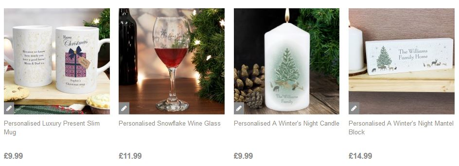 Personalised Gifts at Present Company