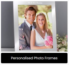 Personalised Photo Frames at Present Company