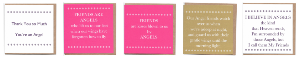Click Here to see Angel Greetings Cards