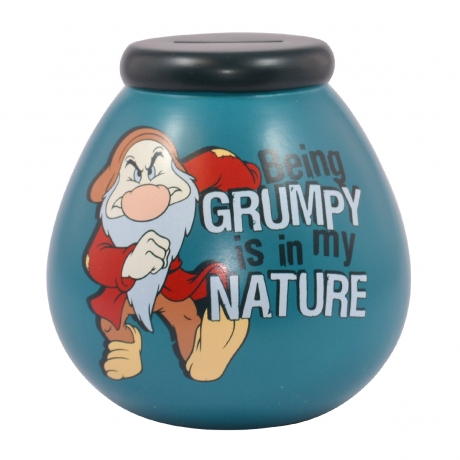 GRUMPY Pot of Dreams Money Box