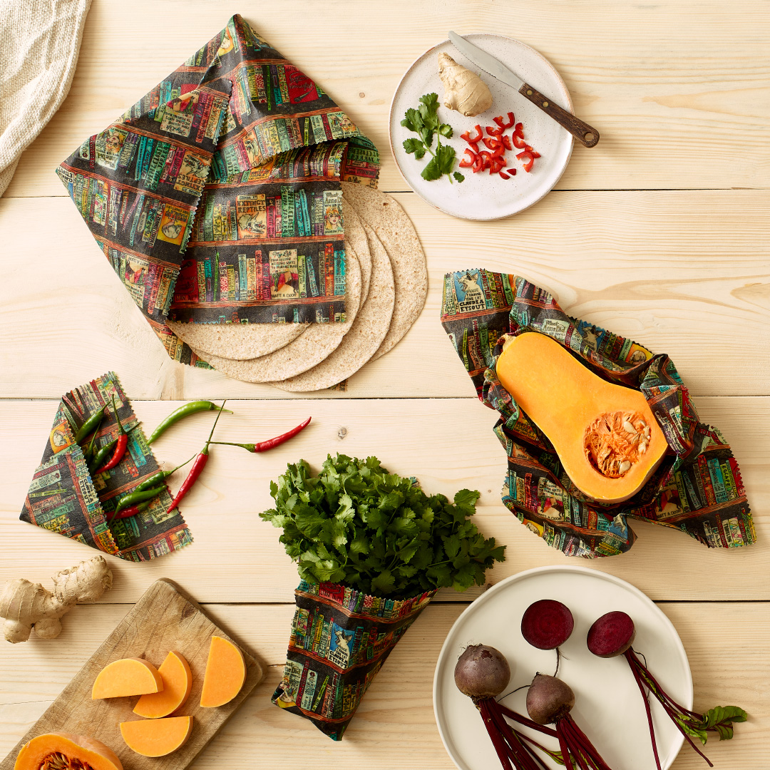 Food Wraps by Bumble Wrap and The Beeswax Wrap Co.