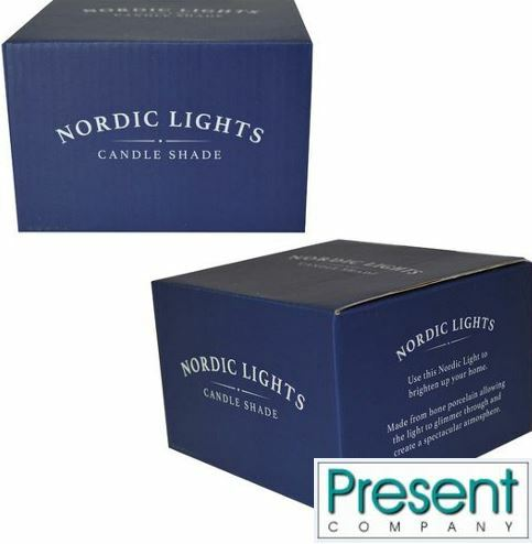 Nordic Lights Candle Shades