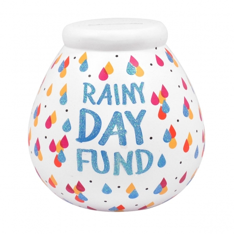 Rainy Day Fund Pot of Dreams Money Box