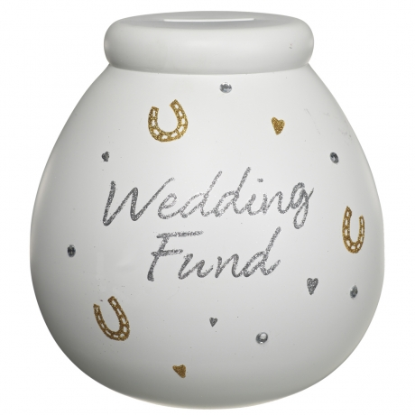 Wedding Fund Pot of Dreams Money Box