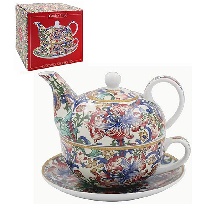 William Morris Golden Lily Tea For One