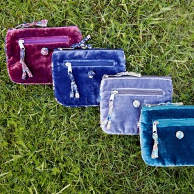 Velvet emily Purse by earth squared