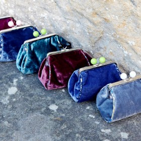 Velvet lara Purse by earth Squared