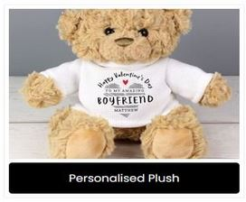 Personalised Plush Toys at Present Company