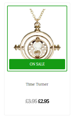 Take a look at the Time Turner offer