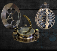Pocket watches and compasses