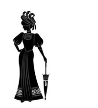 Silhouette of a gentlewoman
