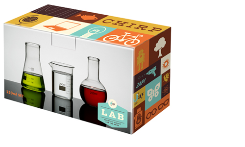 Lab flask box