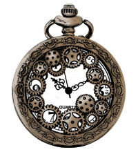 Illustration of a pocket watch